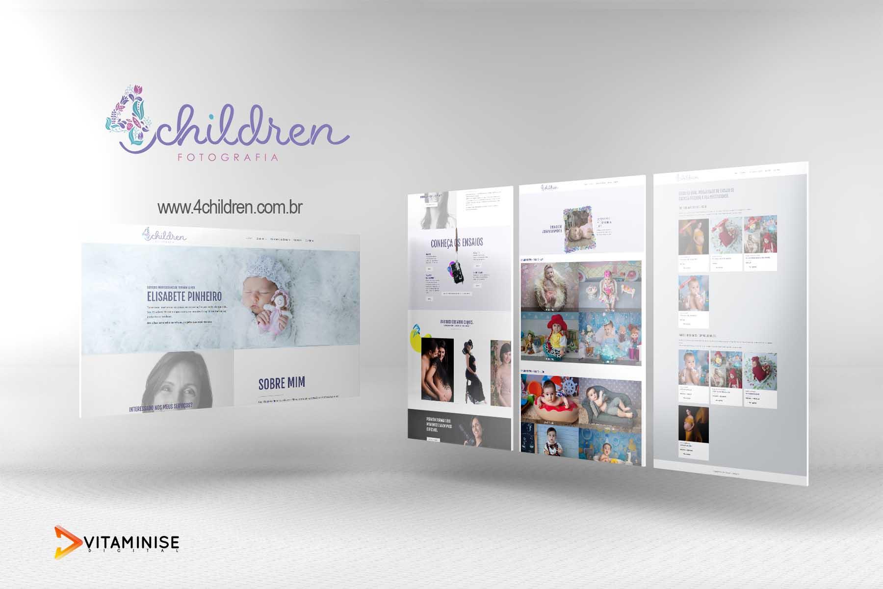 Desenvolvimento de website para estúdio fotográfico